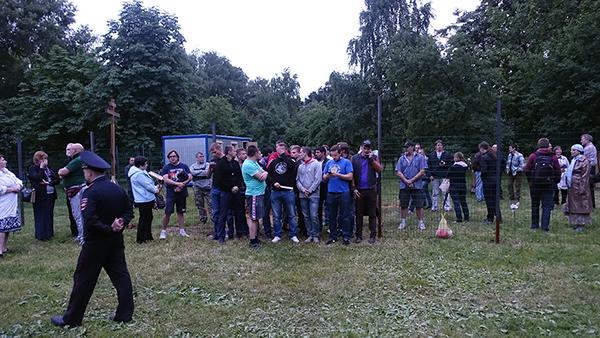 Активисты православного движения «Сорок сороков»
