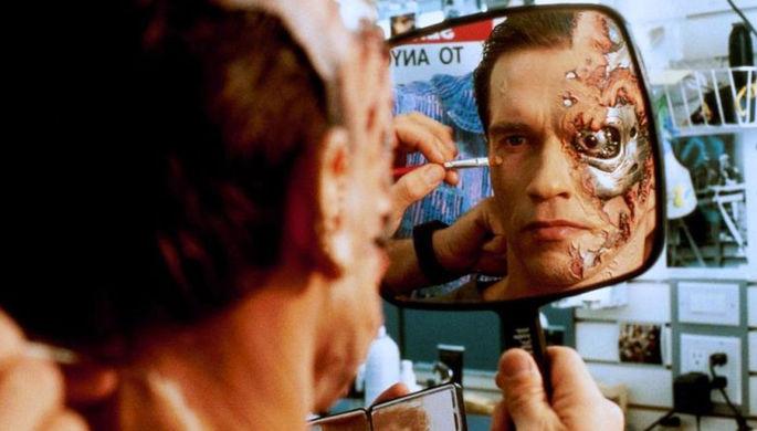 Кадр из фильма «Терминатор 2: Судный день» (1991)