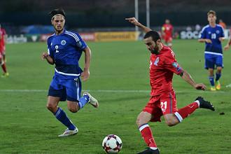 Азерайджан играет с Сан-Марино в матче отбора на ЧМ-2018