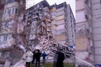 Рухнувший подъезд в Ижевске