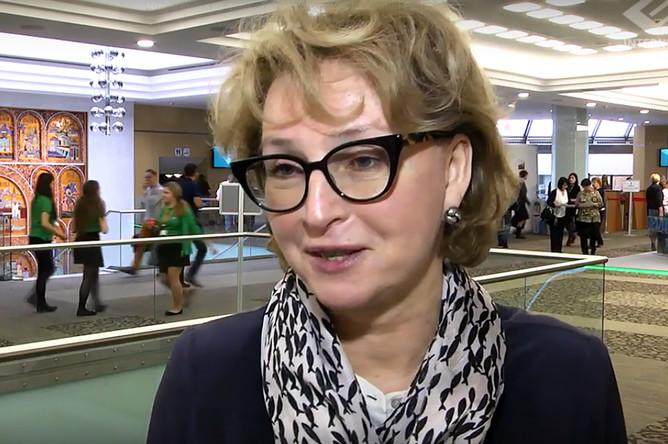 Ирина Чукаева на российском национальном конгрессе «Человек и Лекарство», 2017 год