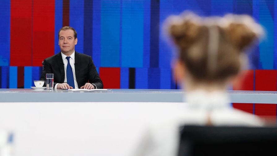 Будет хорошо, но не сразу: Медведев подвел итоги года