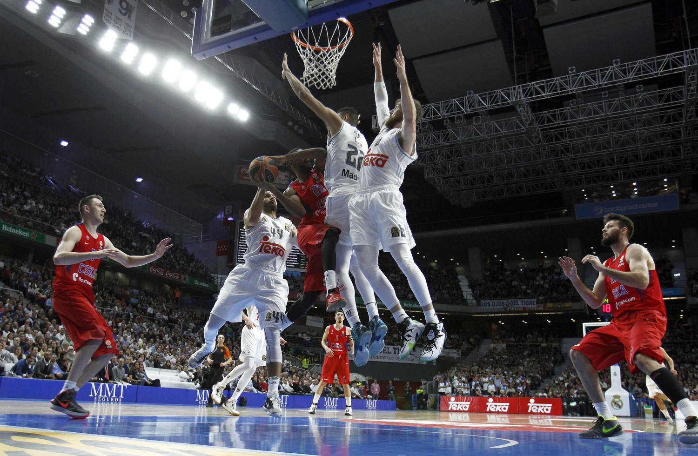 Баскетбол Цска Реал Мадрид
