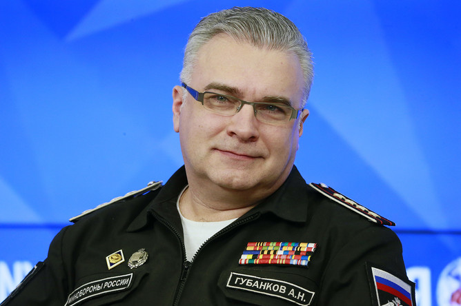 Начальник управления культуры Министерства обороны РФ Антон Губанков