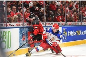 В матче против Канады сборная России трижды пропускала в меньшинстве