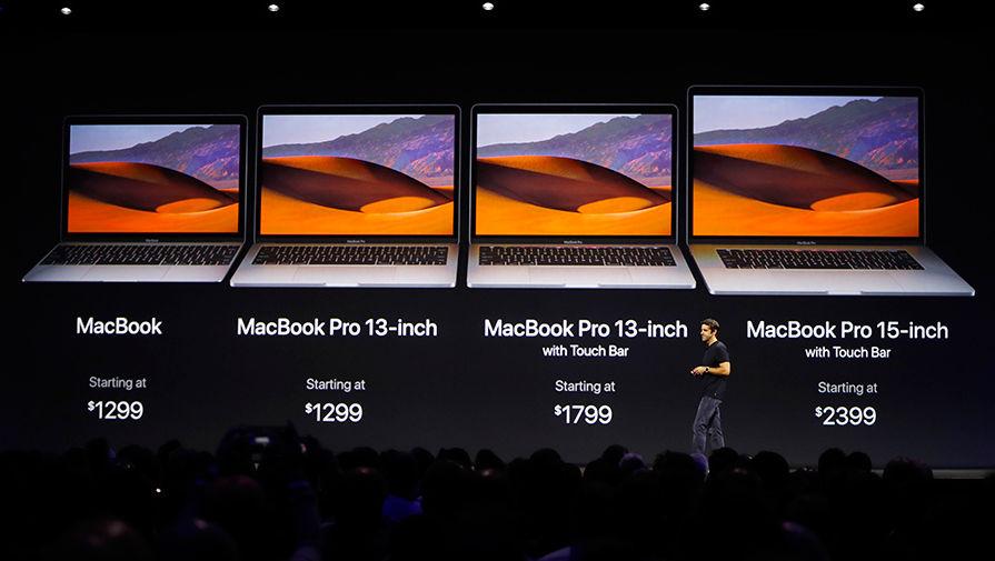 Apple сообщила о дефектах в iPhoneX и MacBook Pro