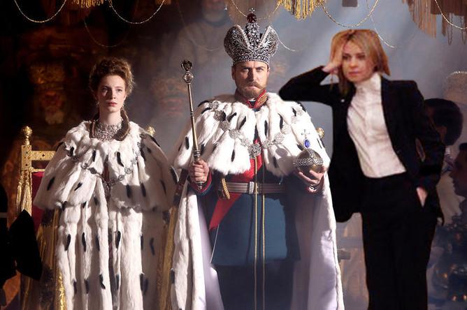 Наталья Поклонская в сцене из фильма «Матильда» (2017)