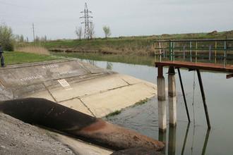 Русло Северо-Крымского канала