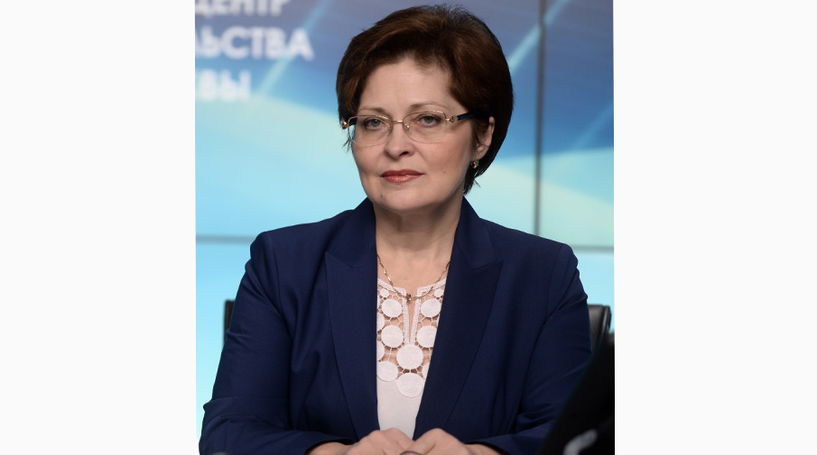 Глава управления по вопросам миграции МВД Ольга Кириллова