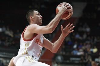 Баскетболист сборной России Виталий Фридзон