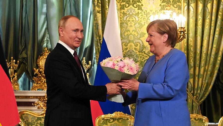 Путин заявил, что Меркель всегда будет желанным гостем в России