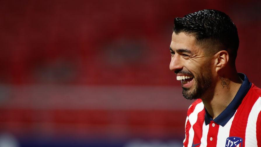 Нападающий мадридского «Атлетико» Луис Суарес