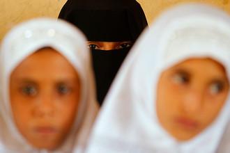 Школьницы из йеменской провинции Ходейда