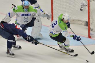 Игрок сборной Словении Жига Еглич