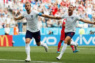 Во время матча группового этапа чемпионата мира по футболу между сборными Англии и Панамы в Нижнем Новгороде, 24 июня 2018 года