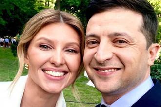 Зеленский с женой перед инаугурацией, 20 мая 2019 года