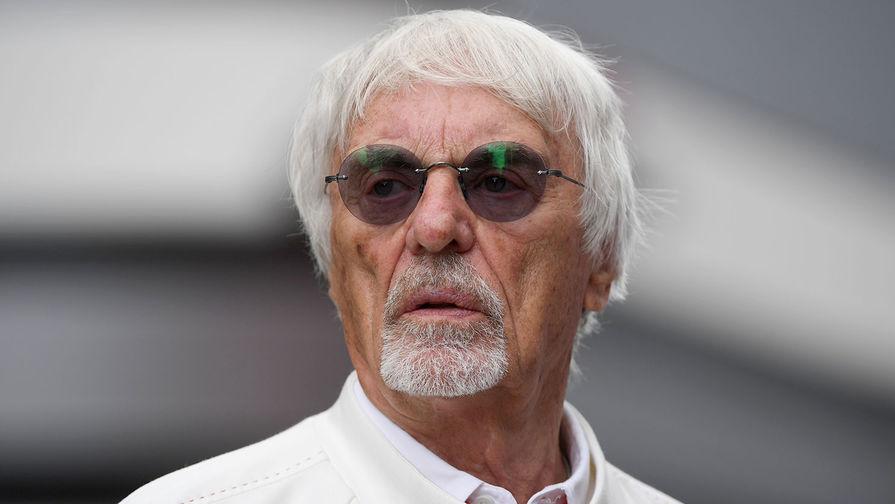 Почетный президент «Формулы-1» Берни Экклстоун, 2019 год
