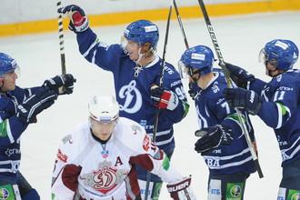 Несмотря на победу, игра у московских динамовцев не получилась