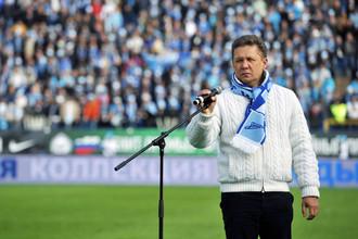 Алексей Миллер занялся активным лоббированием интересов «Зенита»