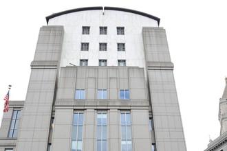 Здание федерального суда в Нью-Йорке, где может быть рассмотрен иск НХЛ к профсоюзу