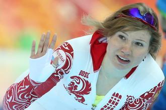 Отстраненная российская конькобежка Ольга Фаткулина
