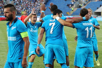 Санкт-петербургский «Зенит» пока не знает проблем на внутренней арене в новом сезоне