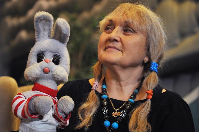 Наталья Голубенцева, озвучивающая Степашку, 2013 год
