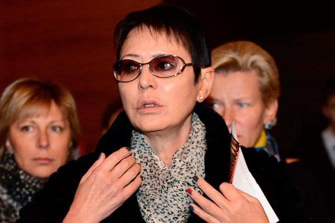 Политический и общественный деятель Ирина Хакамада перед премьерой фильма «Sex, кофе, сигареты» в концертном зале «Барвиха Luxury Village»