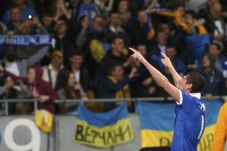Евгений Селезнев после своего гола