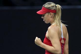 Мария Шарапова здорово провела матч против Каролины Плишковой