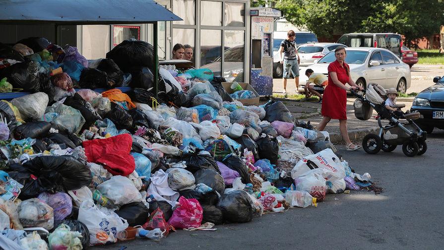 Картинки по запросу украина мусор киев налог на мусор