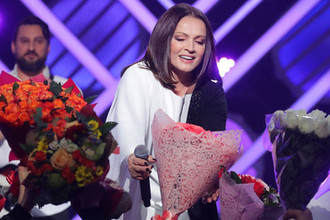 София Ротару во время выступления на концерте «Песня года 2019» 7 декабря