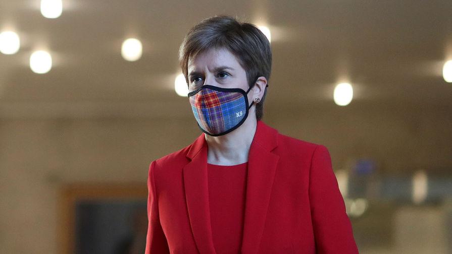 Премьер-министр Шотландии Никола Стерджен