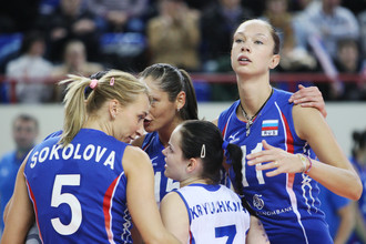Российские волейболистки с победы стартовали в предквалификационном турнире