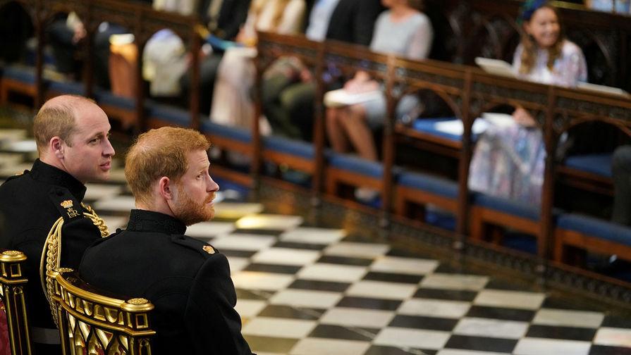 Принцы Уильям и Гарри не будут вместе следовать за гробом принца Филиппа