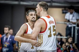Сборная России встречается с Бельгией в матче ЧЕ по баскетболу