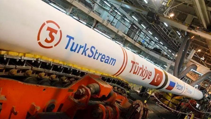 Строительство газопровода Балканский поток завершено