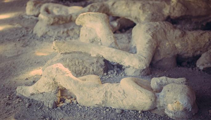 Мозг остекленел: что натворил Везувий