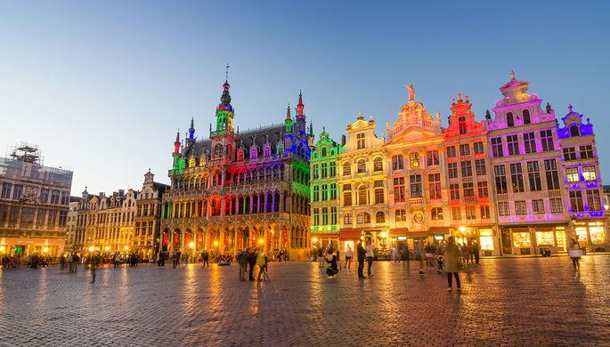 Центральная площадь Брюсселя