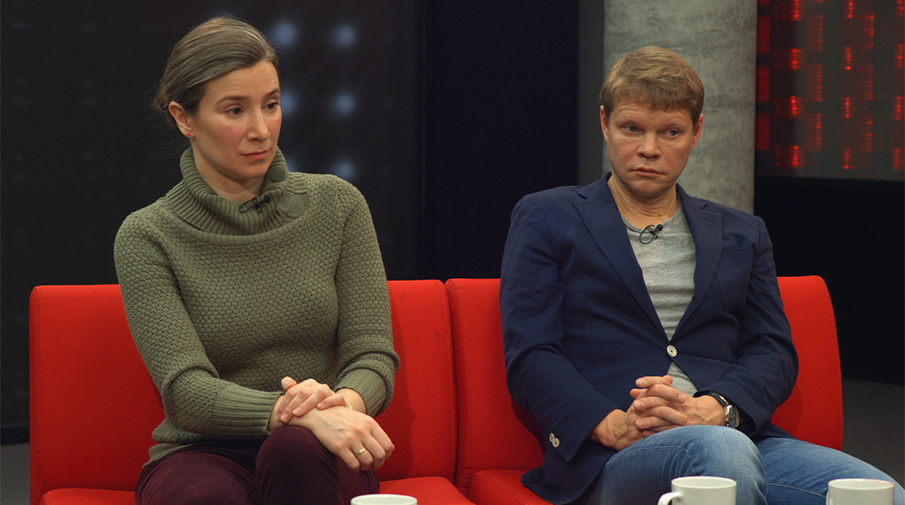 Екатерина Шульман и Александр Баунов