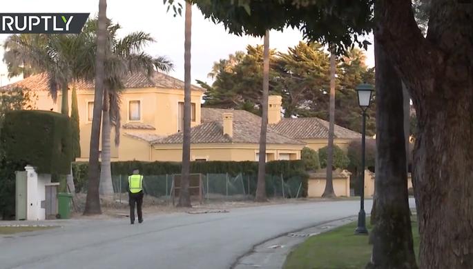 Дом в Испании, где было обнаружено тело Игоря Малашенко, 25 февраля 2019 года