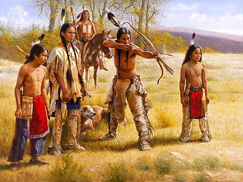 Североамериканские индейцы несут в своей крови алтайские корни