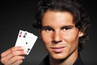 Надаль научился играть в покер