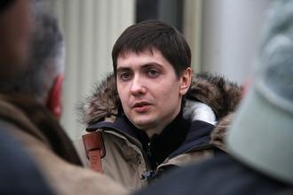 Андрей Гривцов после оглашения оправдательного приговора в Мосгорсуде