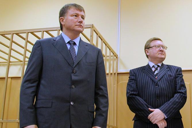 В Туле начался процесс над экс-губернатором Вячеславом Дудкой, обвиненном в получении взяти в 40 млн рублей