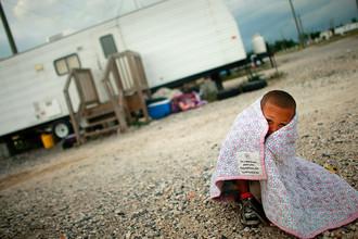 Число американцев, живущих в бедности, остается высоким
