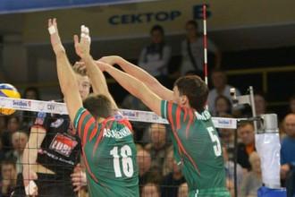 Новосибирский «Локомотив» обыграл «Мачерату» в матче волейбольной Лиги чемпионов