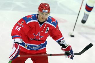 Ветеран ЦСКА Сергей Федоров должен появиться на льду в розыгрыше Кубка Шпенглера