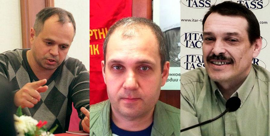 Сергей Колотовкин, Сергей Лапенков и Игорь Дмитриев