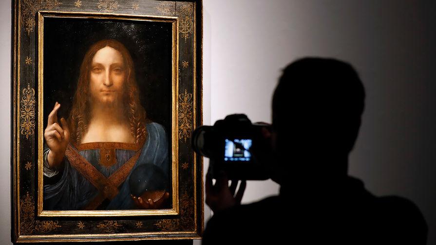 Стало известно о пропаже картины Леонардо да Винчи из Лувра